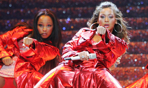 Beyonce opening the 2006 World Music Awards with Deja Vu