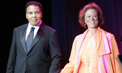 Muhammad & Lonnie Ali