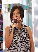 Rihanna on TRL - June 11, 2007