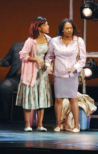 Cindy Herron-Braggs and Jennifer Holliday Will Smith Family
