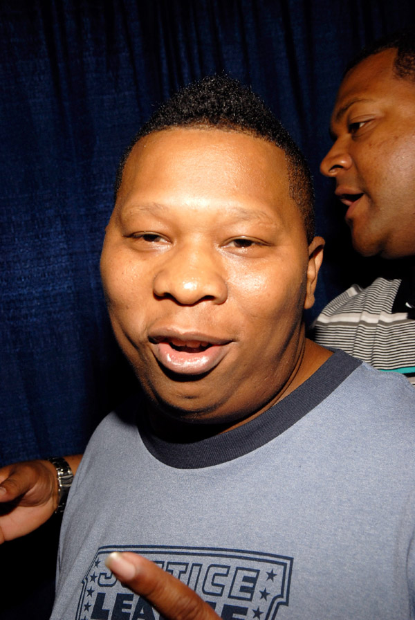 Mannie Fresh arriving at the 2007 O'Zone Awards