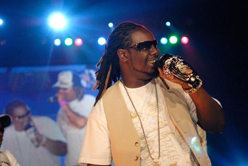 T-Pain at the 2007 O'Zone Awards