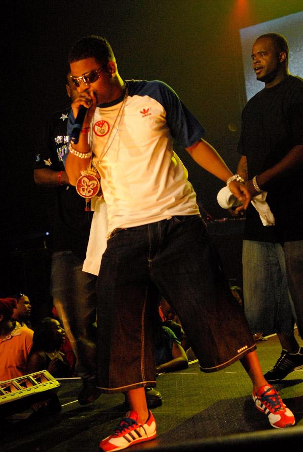 Baby Boy Da Prince at the 2007 O'Zone Awards