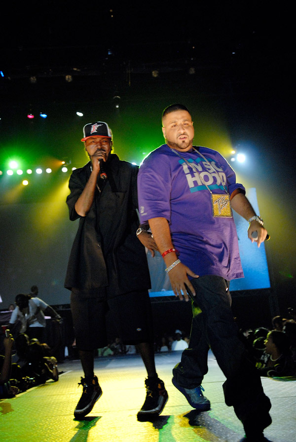 Trick Daddy and DJ Khaled at the 2007 O'Zone Awards