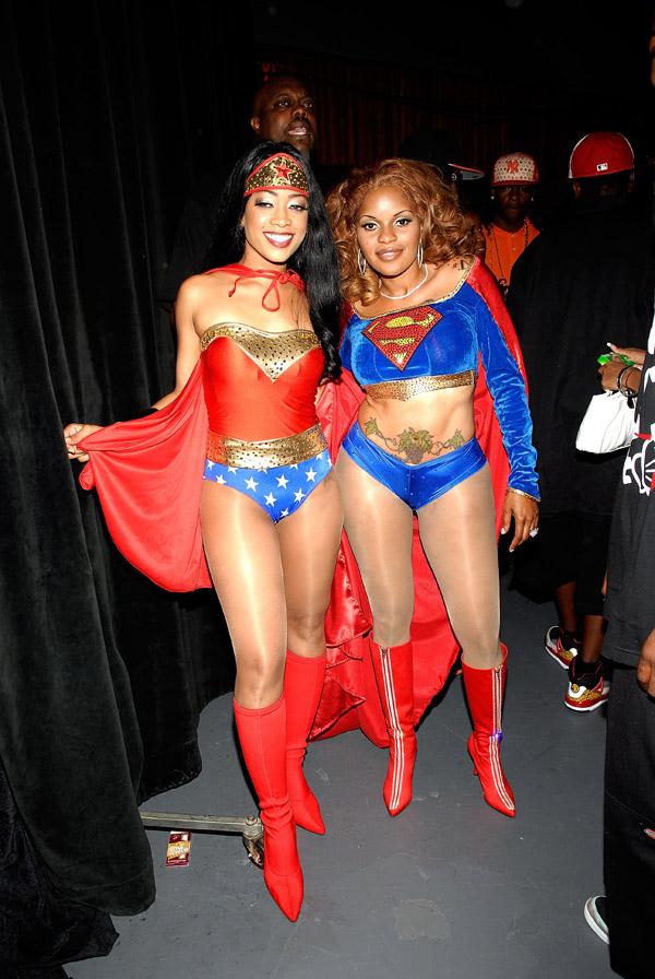 Trina & Jacki-O at the 2007 O'Zone Awards