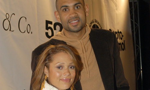 grant hill and tamia wedding. Tamia and Grant Hill Welcome