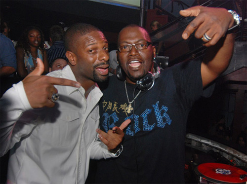 RANDY JACKSON GUEST DJ'S AT CAMEO IN MIAMI