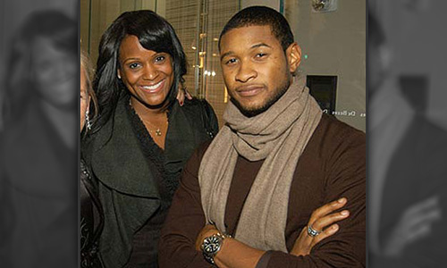 "USHER AND TAMEKA: ""IT'S A BOY!"""