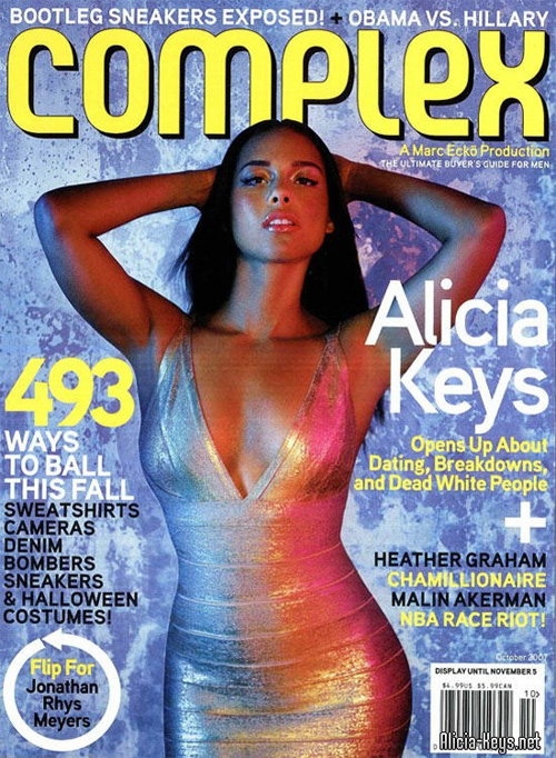 Alicia Keys Covers Complex, Ebony, and Uptown Magazines!