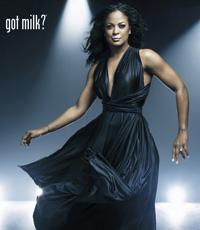 Laila Ali's Got Milk Ad