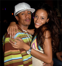 NICK CANNON & SELITA EBANKS SPLIT