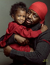 Wyclef Jean & his daughter Angelina