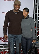 Barry Bonds & his wife