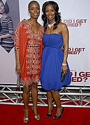 Tasha Smith & her sister