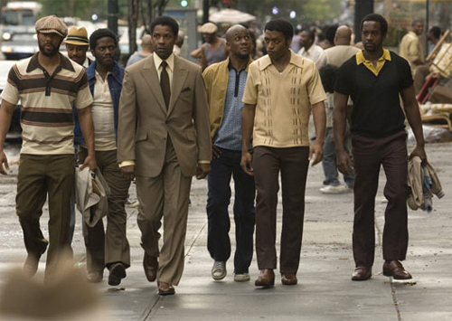 American Gangster is the #1 Movie in the Country!
