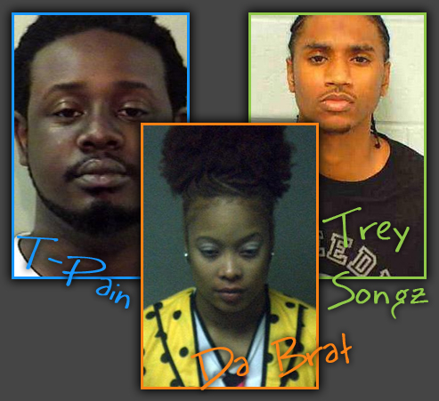 "The ""I Got Arrested Last Week"" Rundown! Featuring Da Brat, T-Pain, and Trey Songz!"