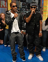Bow Wow & Omarion on TRL - November 26, 2007