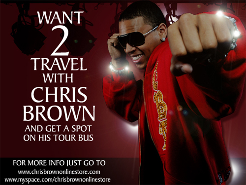 Wanna Get A Spot on CHRIS BROWN's Tour Bus??