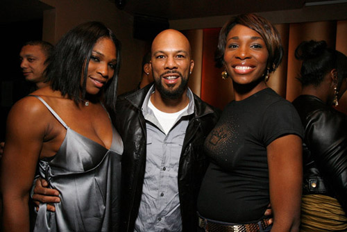 Serena, Common, and Venus
