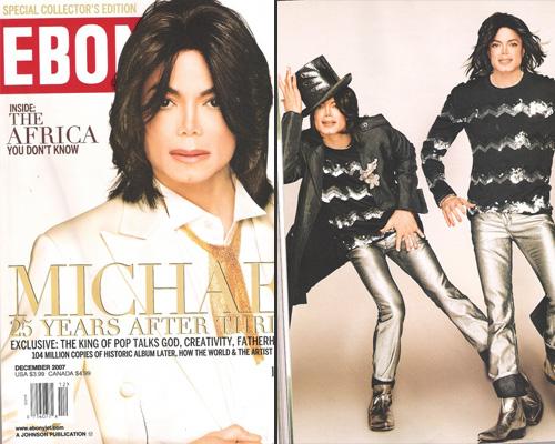 Michael Jackson Covers Ebony Magazine