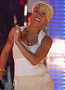 Keyshia Cole on TRL - November 27, 2007