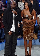 Morris Chestnut and Gabrielle Union on 106 & Park - December 11, 2007