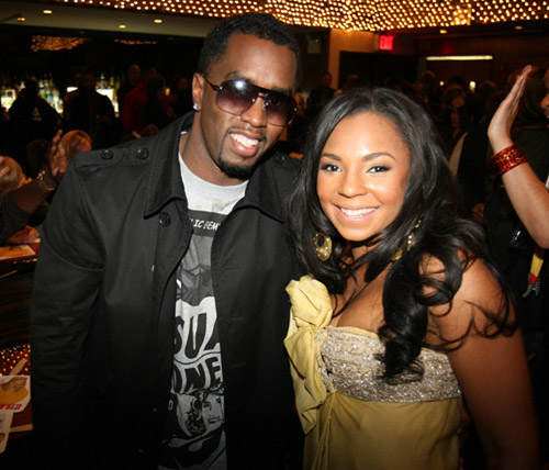 Diddy & Ashanti at Live Beats