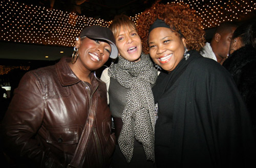 Missy Elliot, Silvia Rhone, and Mona Scott at Live Beats