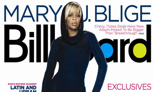 Mary J. Blige covers Billboard Magazine