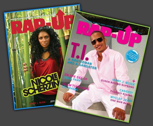 T.I. & Nicole Scherzinger Cover Rap-Up Magazine!