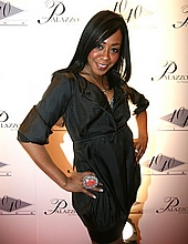 Tichina Arnold at the 40/40 club opening