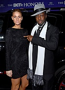 Wyclef Jean and Niia at the '08 BET Honors