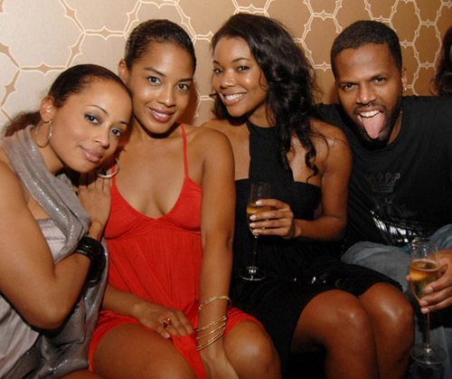 Essence Atkins, Kelly Lee, Gabrielle Union, and AJ Calloway at the Florida Room