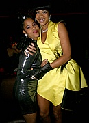 Kelis and her sister at TAO Nightclub NYE 07/08