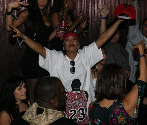 Da Brat at TAO Nightclub NYE 07/08