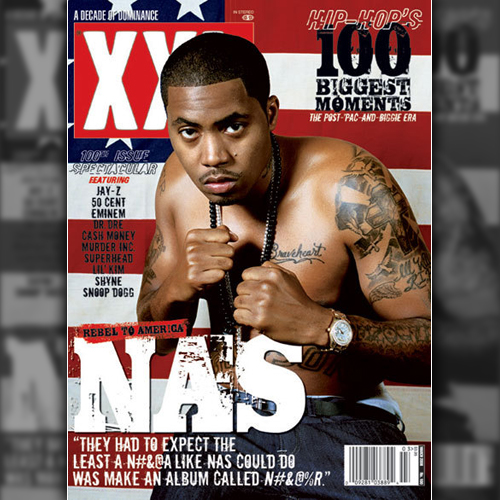 Nas Covers XXL Magazine