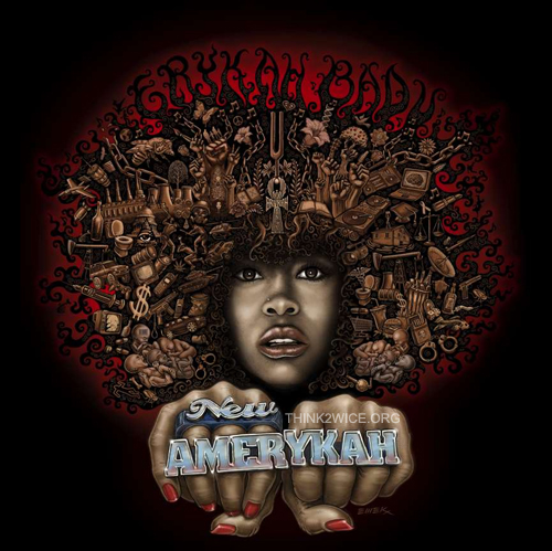 Erykah Badu: New Amerykah Album Cover