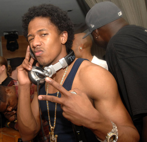 Nick Cannon celebrates NYE 07/08 at the Prive