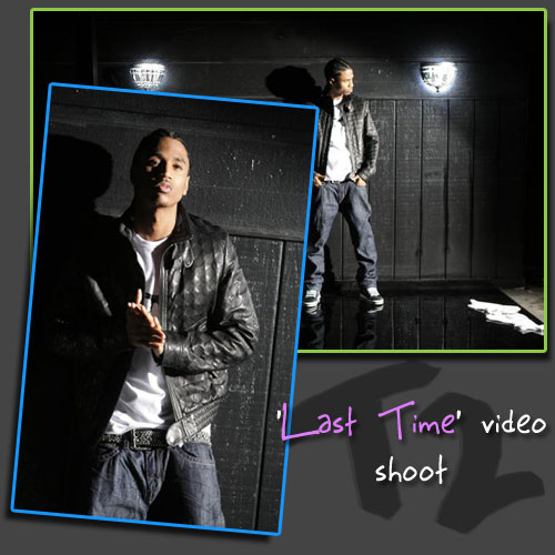 Last Time video shoot!