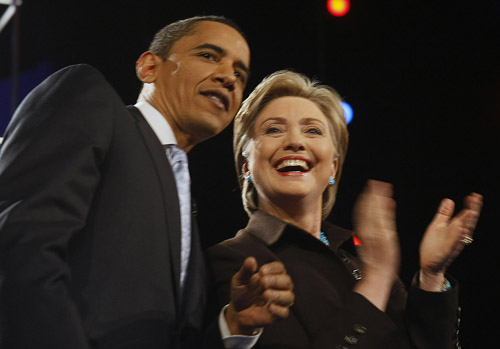 The Democratic Race between Obama and Clinton is Getting Tighter and Tighter