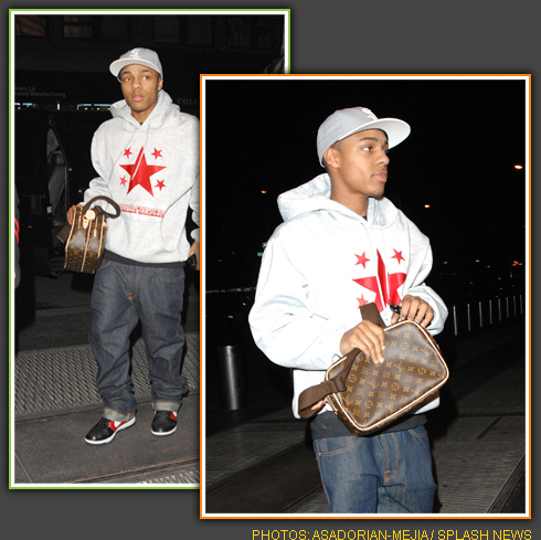 Bow Wow (sans Omarion) Out & About in NYC