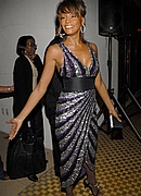 Whitney Houston at Pre-Grammy Party