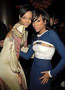 Rihanna & Lil Mama at Pre-Grammy Party