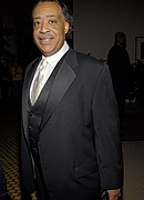 Al Sharpton at Pre-Grammy Party