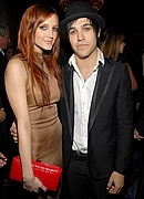 Ashlee Simpson & Pete Wentz at Pre-Grammy Party
