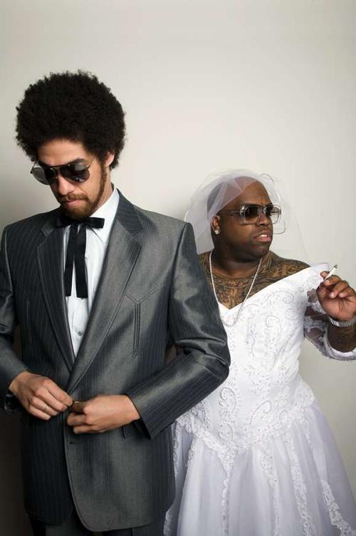 "Gnarls Barkley - ""The Odd Couple"" - Promo Shots"