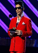 Prince at the 50th Annual Grammys