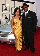 Jimmy Jam & Lisa (wife) on the GM Red Carpet