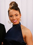 Alicia Keys on the GM Red Carpet
