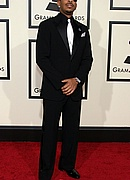 Ludacris on the Red Carpet at the 50th Annual Grammys